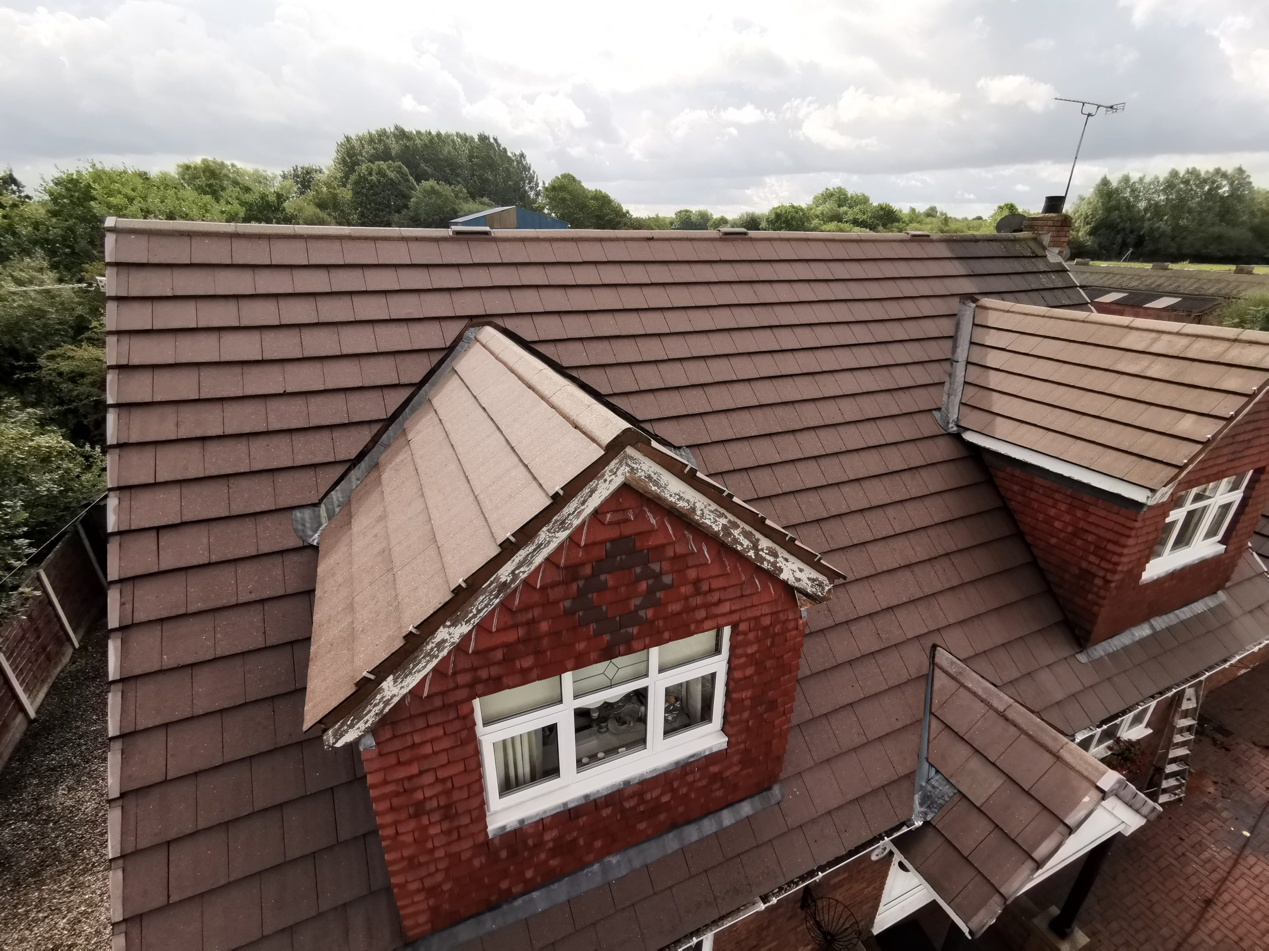 Roof during cleaning Wigan Warrington St Helens Manchester Liverpool Bolton