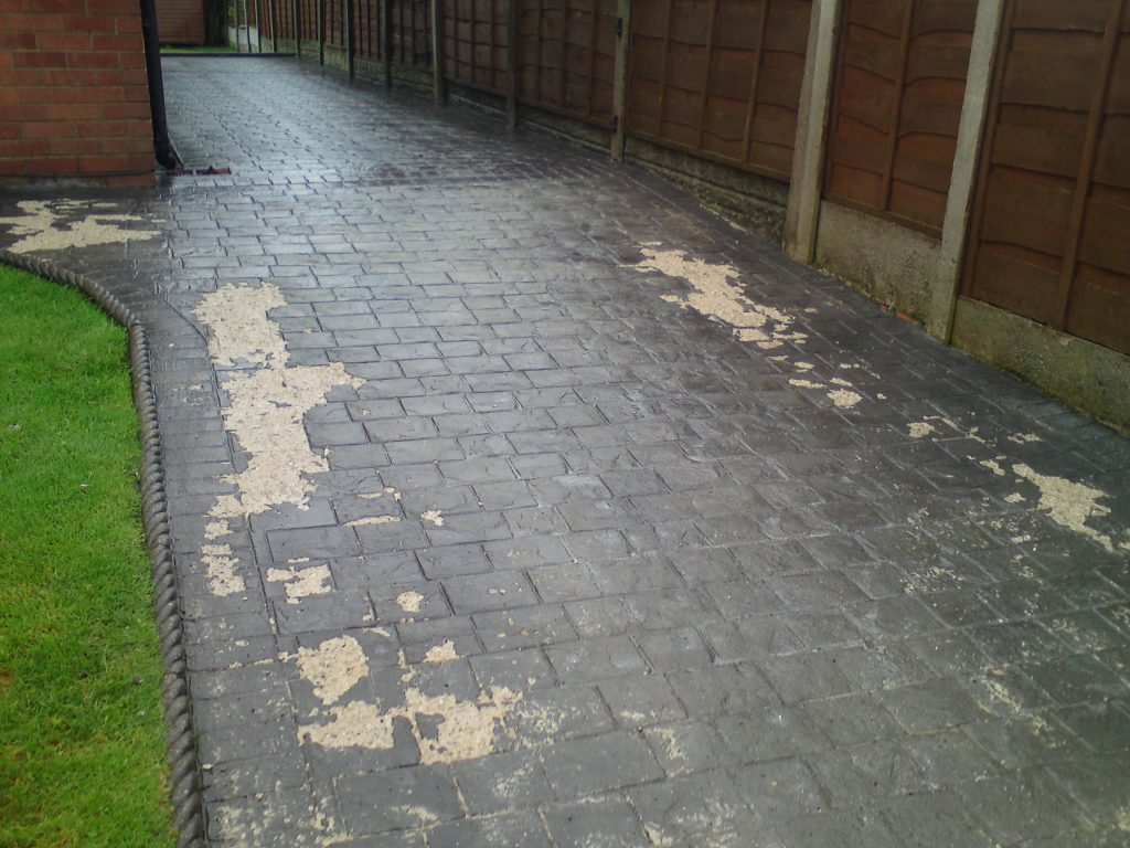 Concrete Driveway Repair Amp Refurbishment Power Wash